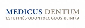 Medicus dentum, estetinės odontologijos klinika, UAB logotipas
